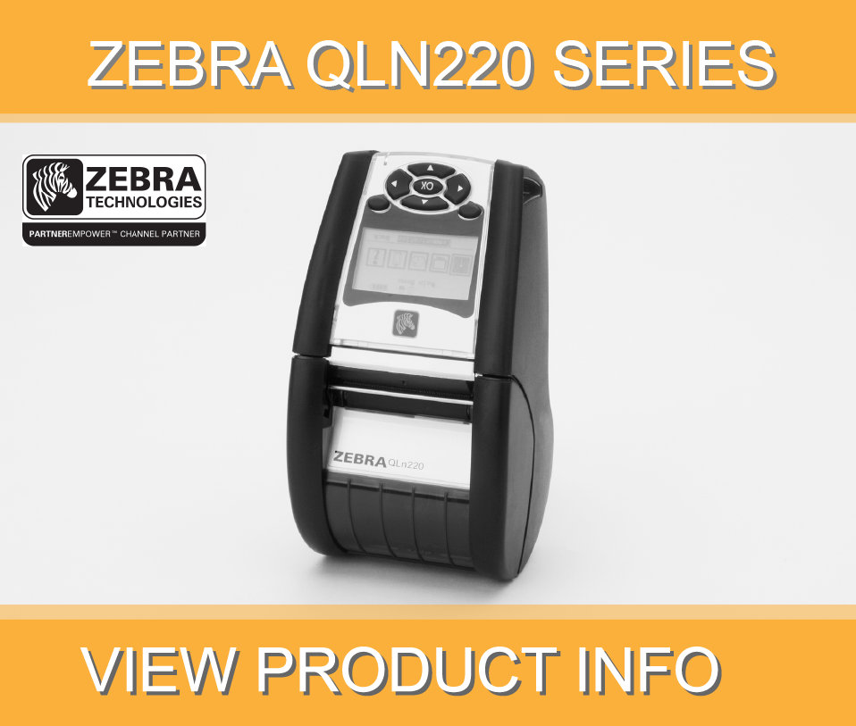 The Zebra QLn 220 from Paragon Data Systems