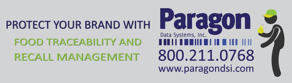 protect your brand with Paragon: enact a food traceability system