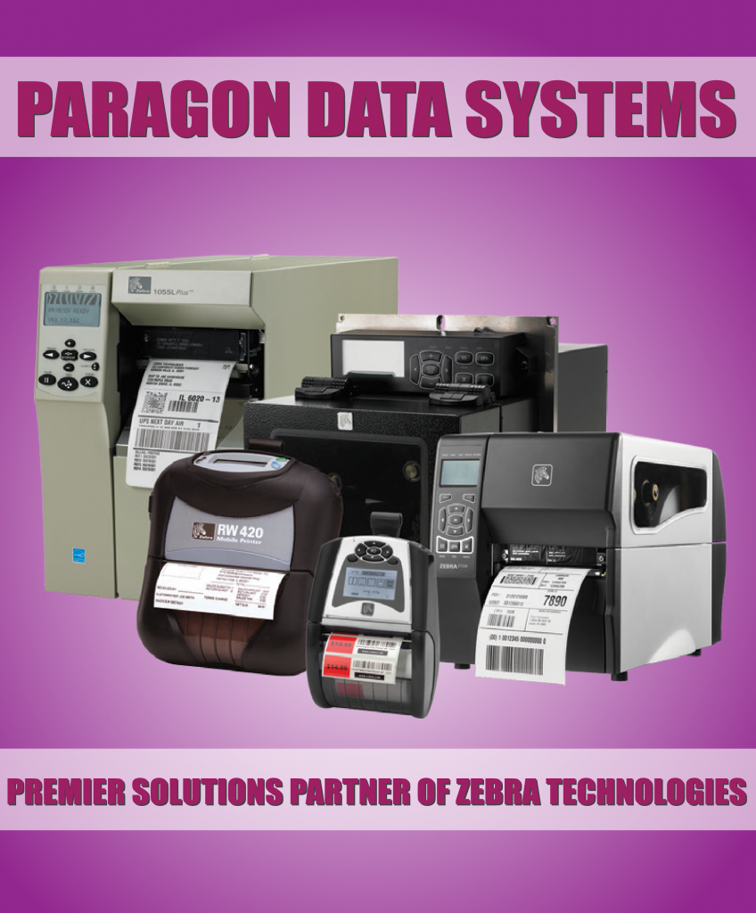 Paragon is now a Solutions Partner of Zebra