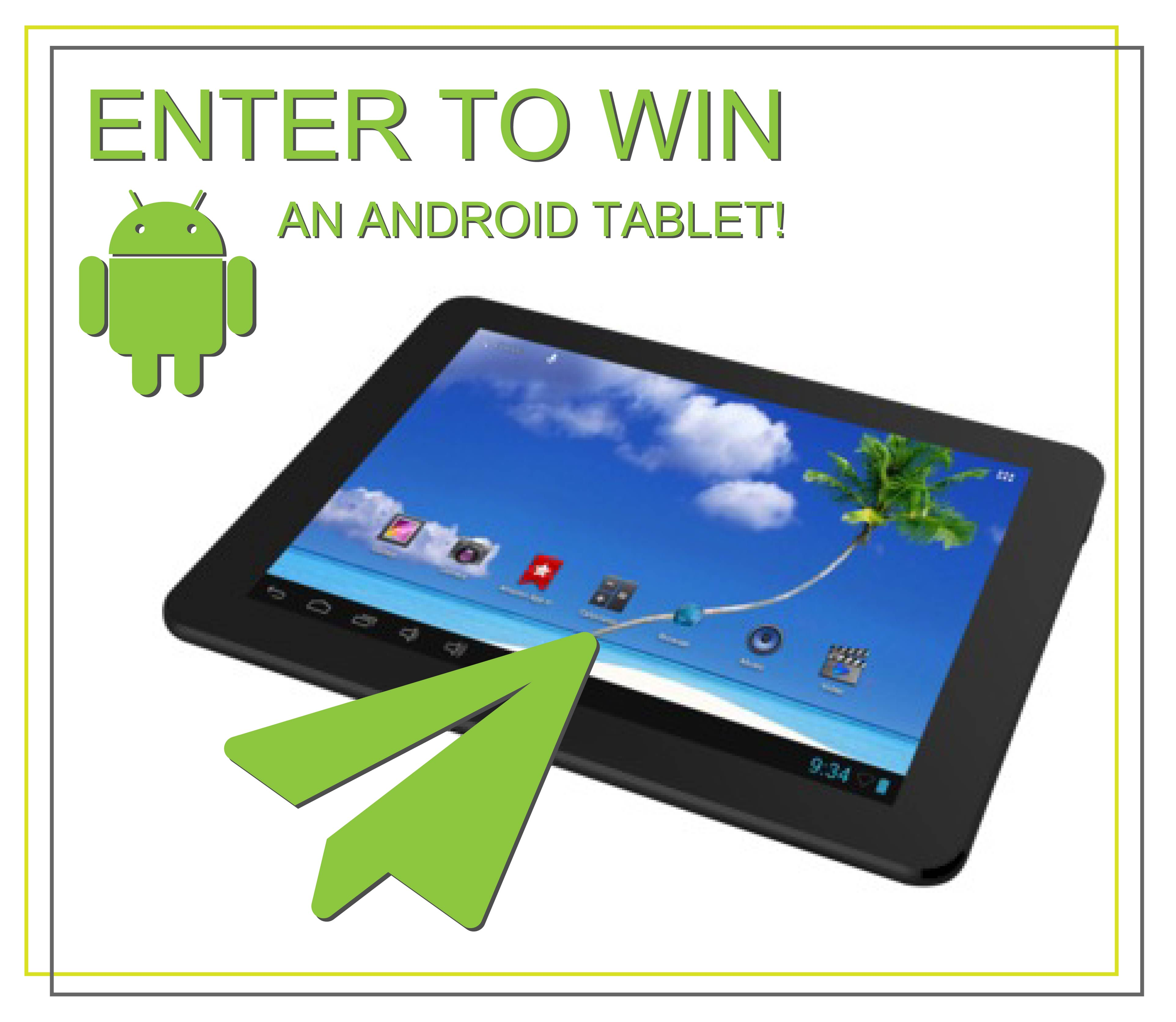 enter to win a free tablet